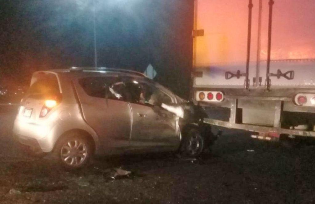 Fuerte Accidente En La Autopista Mexico Queretaro No Hay Heridos